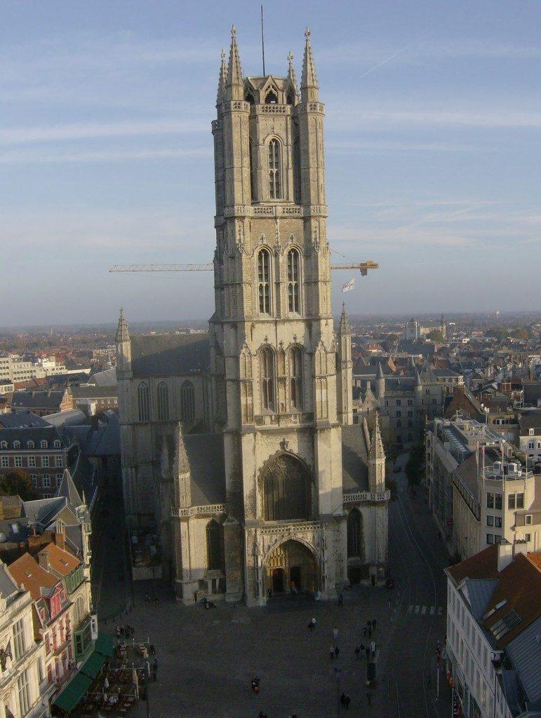 Gante - Catedral de San Bravón
