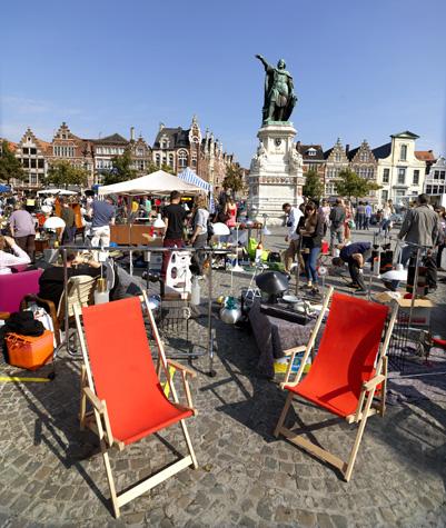 El mercado de Gante