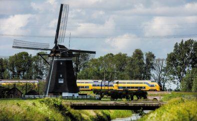 Energía Eólica mueve todos los trenes en Holanda